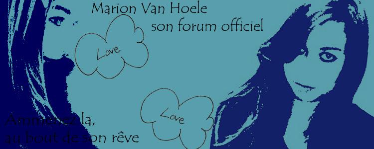 Marion Van Hoele. Une passion, une voix ; un talent.