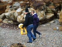 International Beach Clean up & PADI Project AWARE Dscf1920