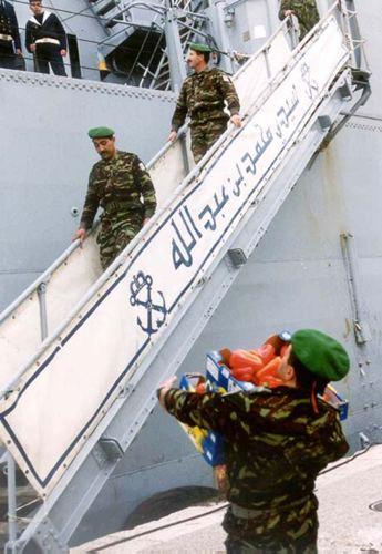 Royal Moroccan Navy Newport class / Sidi Mohammed Ben Abdellah ( 407 ) ( Inactive ) B0003010