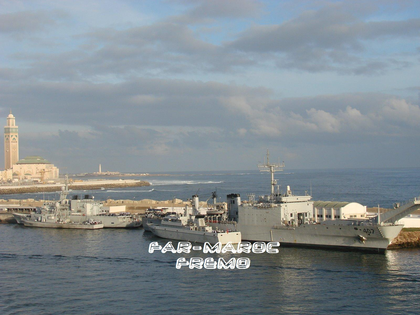Royal Moroccan Navy Newport class / Sidi Mohammed Ben Abdellah ( 407 ) ( Inactive ) Fremoc10
