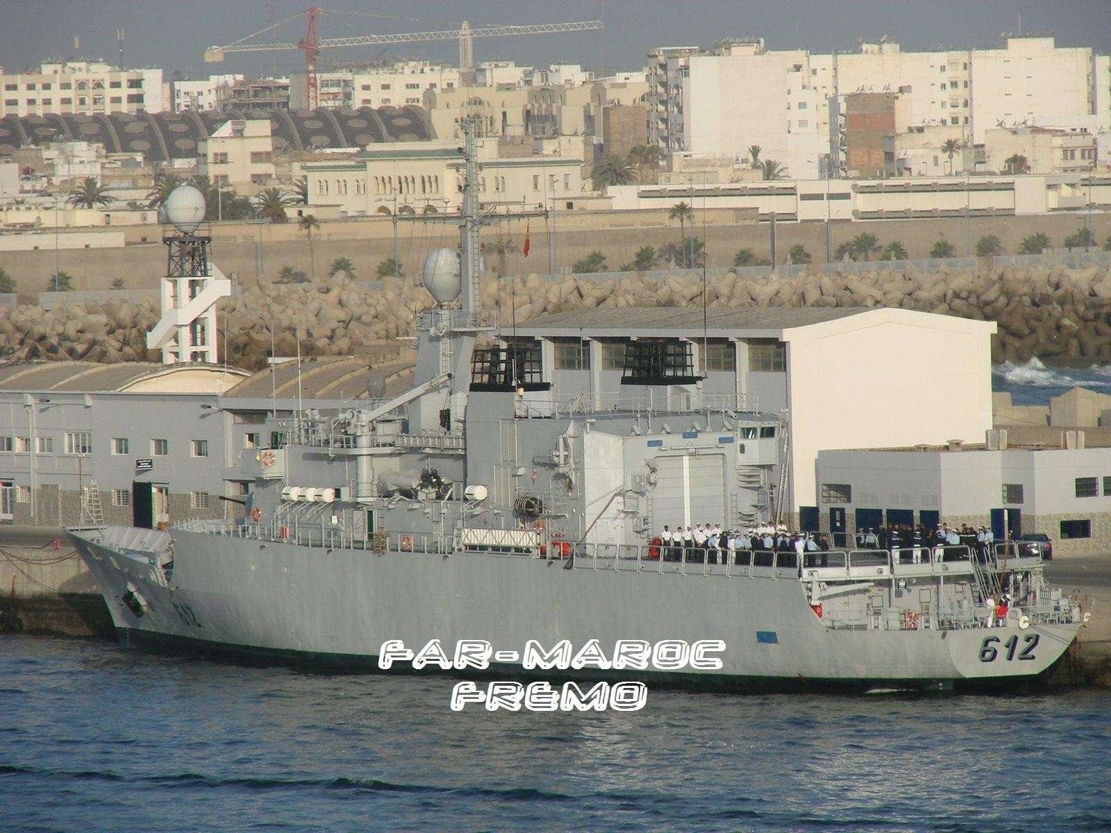Royal Moroccan Navy Floréal Frigates / Frégates Floréal Marocaines - Page 2 Fremof10