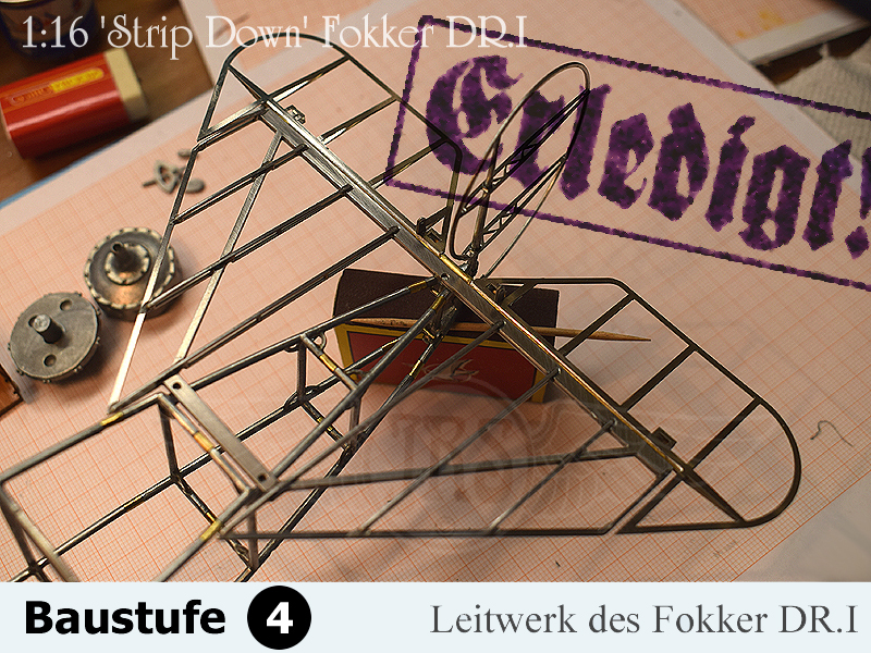 'Strip Down' Fokker DR.I / Artesania Latina, 1:16 - Seite 2 4_210