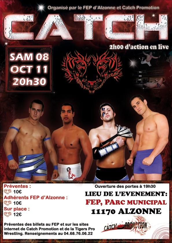 Show TPW Alzonne (11) 08/10/11 Affich10