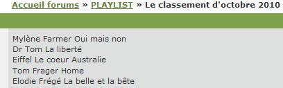 2ème single : La belle et la bête, diffusions en radios Elodie15