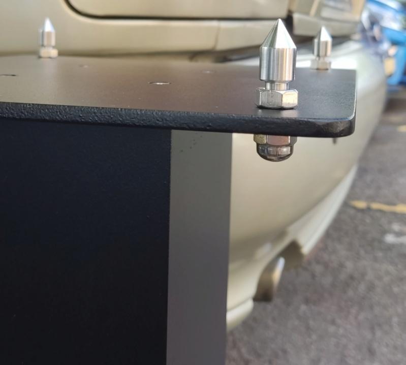 "Aluminium Speaker Stand 24"" (60cm)(Custom Make) Img_2025"