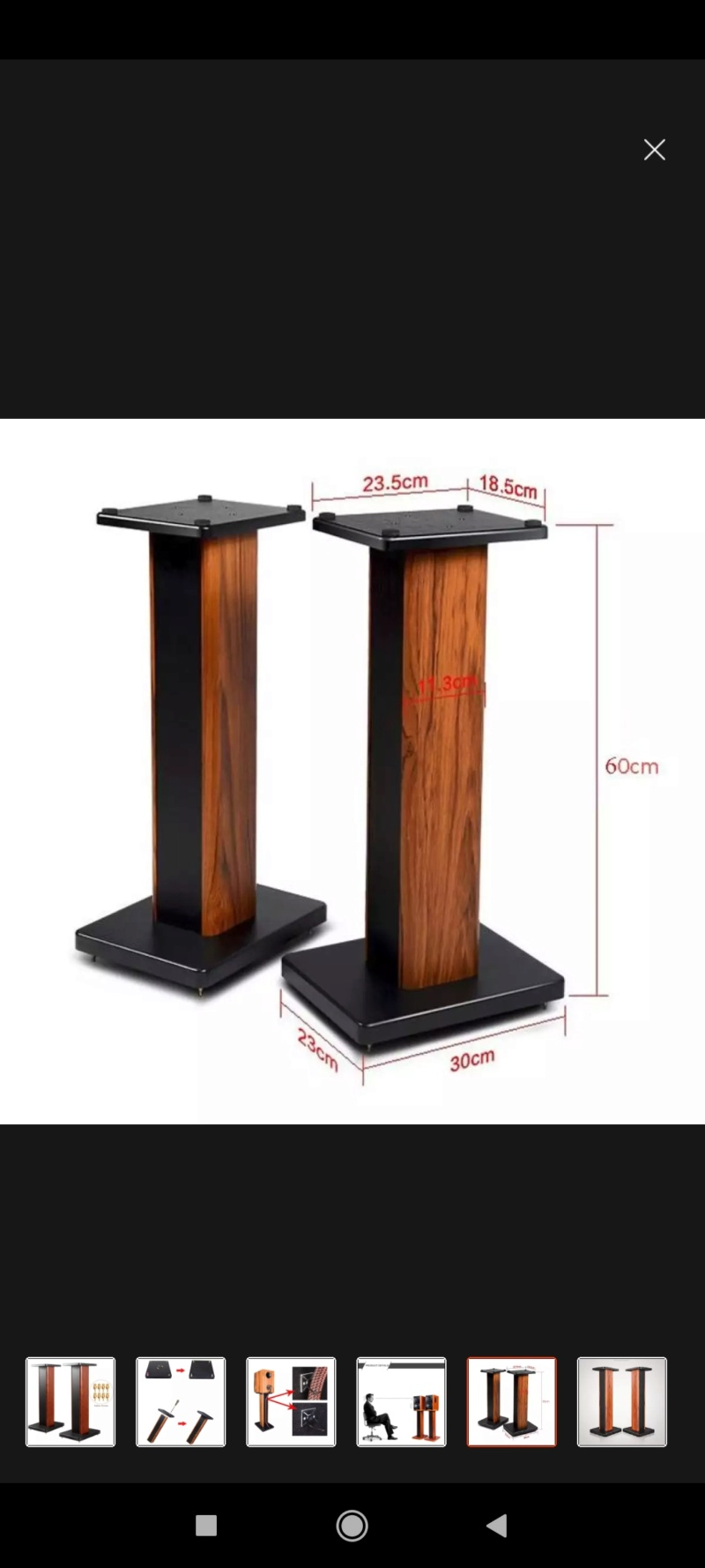 Dmseinc Wooden Mdf board Speaker Stand S008 (60cm)(sold) Screen13