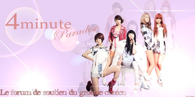 4Minute Paradise : Forum de soutien