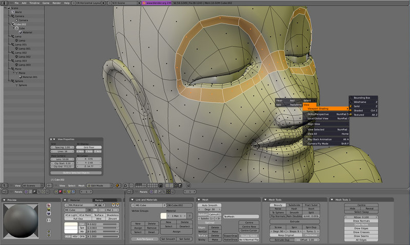 BLENDER - Modelagem, animação, edição  em 3D. 4141d010