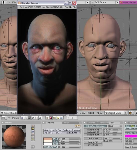 BLENDER - Modelagem, animação, edição  em 3D. 6ac46110