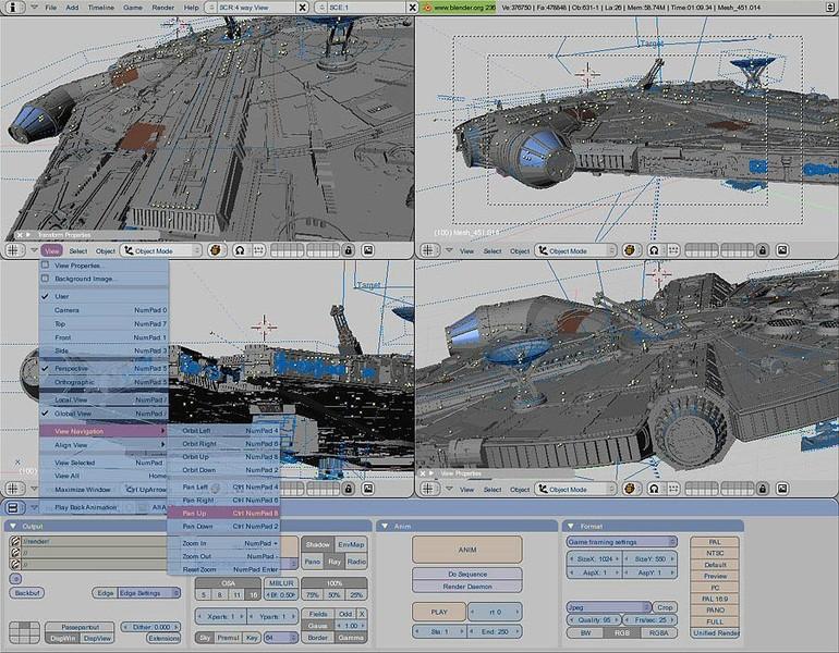 BLENDER - Modelagem, animação, edição  em 3D. 83ffc710