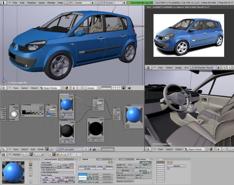 BLENDER - Modelagem, animação, edição  em 3D. E673bb10
