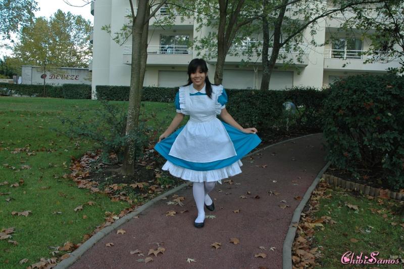Cosplay de Alice aux Pays des Merveilles Hoshii14