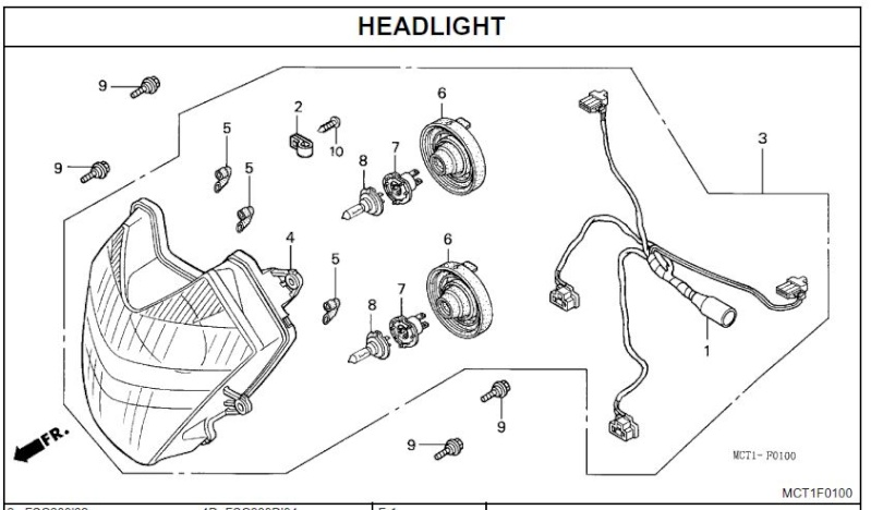 Headlight Reflector - 2 Additional Light Sockets Usswin10