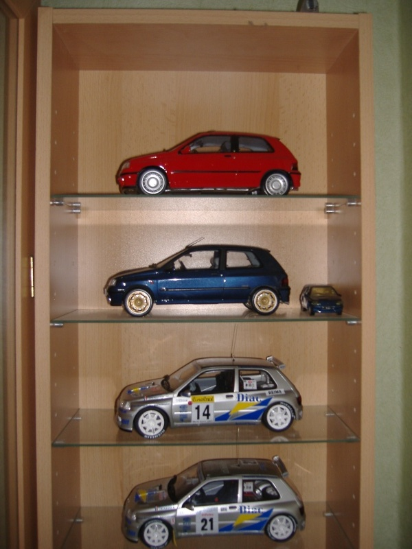 Quelques modeles de ma collection 1/18 Clio111