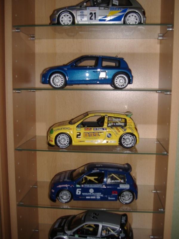Quelques modeles de ma collection 1/18 Clio310