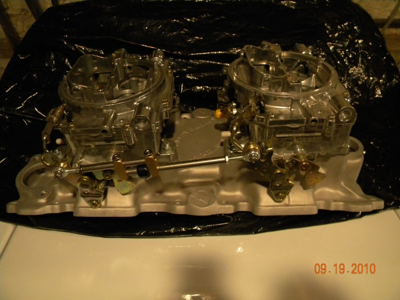SOLD:: Dual 4 bbl carb setup. (gave up on project) Craigl10