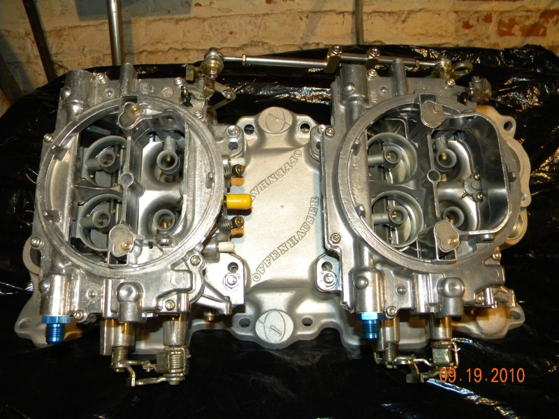 SOLD:: Dual 4 bbl carb setup. (gave up on project) Craigl11