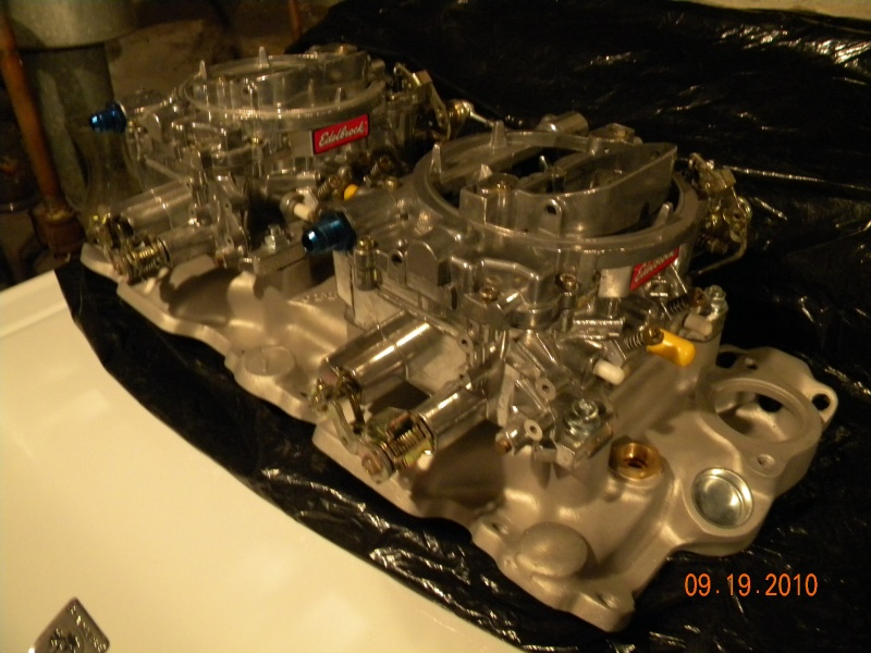 SOLD:: Dual 4 bbl carb setup. (gave up on project) Craigl12