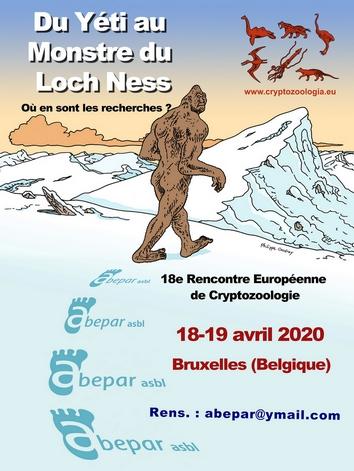 18e Rencontre Européenne de Cryptozoologie Affich12