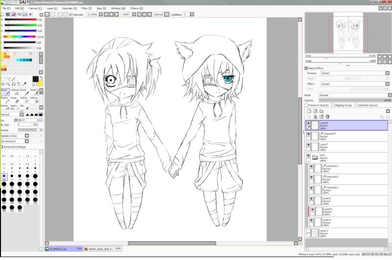 Art progress GO! Alkjc10