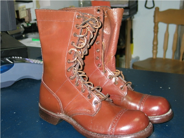 US Jump Boots used by 1st Can Para Boots10