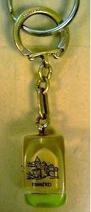 Découverte en INB d'un porte-clefs radioactif Portec10