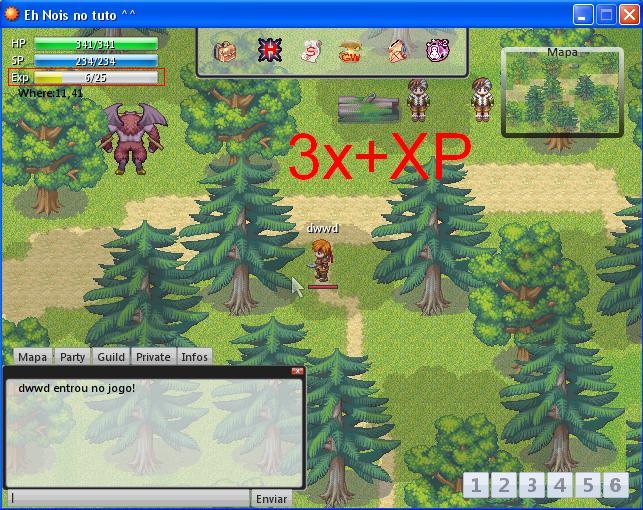 Exp/Gold Bonus X410