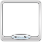Иконки OnLine OffLine на аватаре 00310