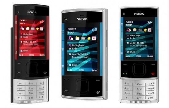 NOKIA X3 MOBILE PHONE Nokia-10