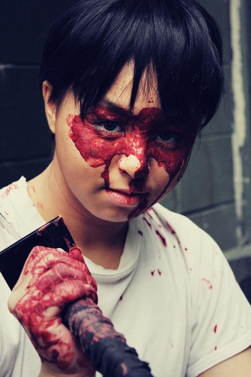 Blood Mask [Damian Wayne - Batman: Streets of Gotham] Damian13