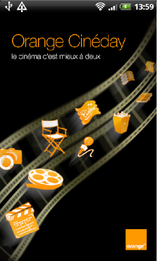 [SOFT] ORANGE CINEDAY : L'application Orange pour le cinéma [Gratuit] Captur58