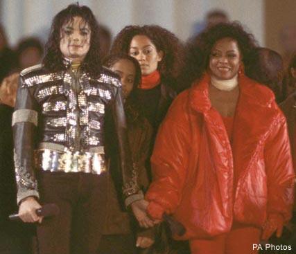 Michael e Diana Ross Michae10