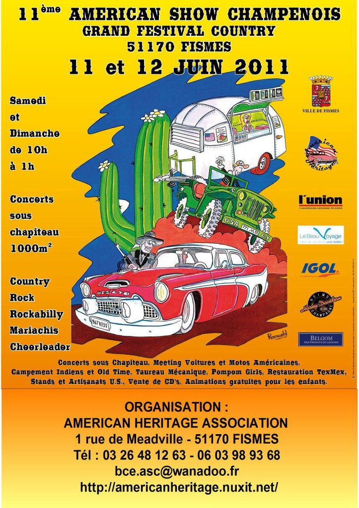 Dynasty le samedi  11 Juin, Américan show Champenois.... 11-fra11