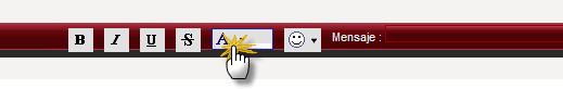 Cambiar color texto en Mensajes de Chatbox 4210