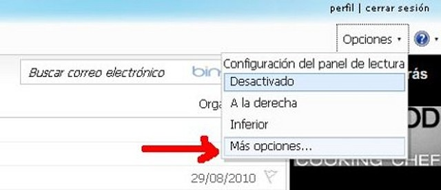 Detectado problema en hotmail... Hot110