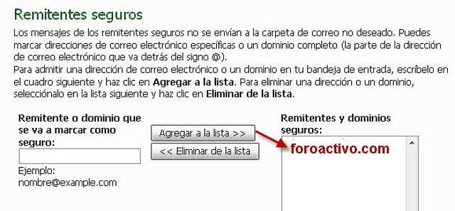 Detectado problema en hotmail... Hot410