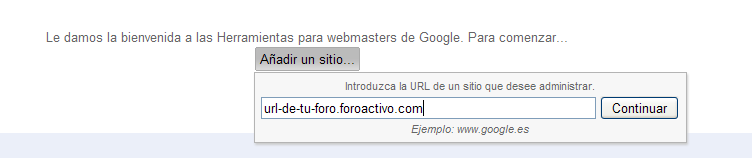 Optimizar la referencia de su foro via Google Sitemaps Site210