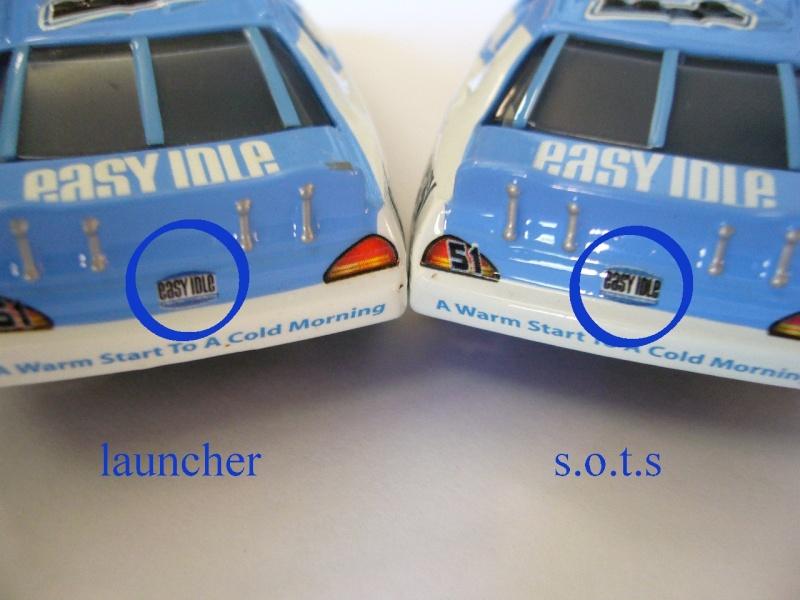 comparaison deux voitures 80# et 54# promo et SOTS Easy_i12