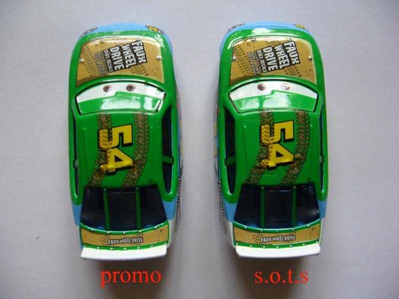 comparaison deux voitures 80# et 54# promo et SOTS Faux_w11
