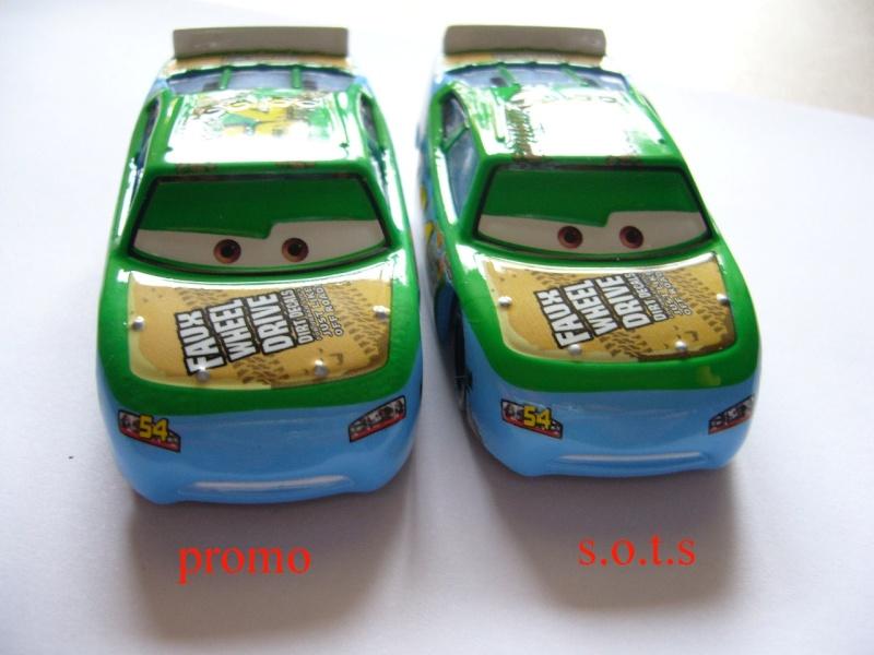 comparaison deux voitures 80# et 54# promo et SOTS Faux_w12