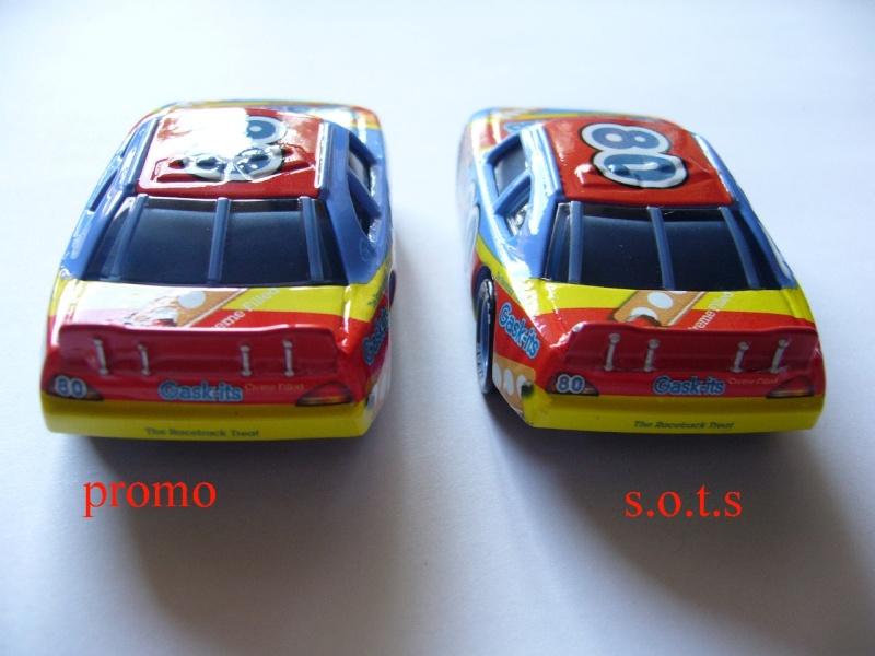 comparaison deux voitures 80# et 54# promo et SOTS Gask-i10