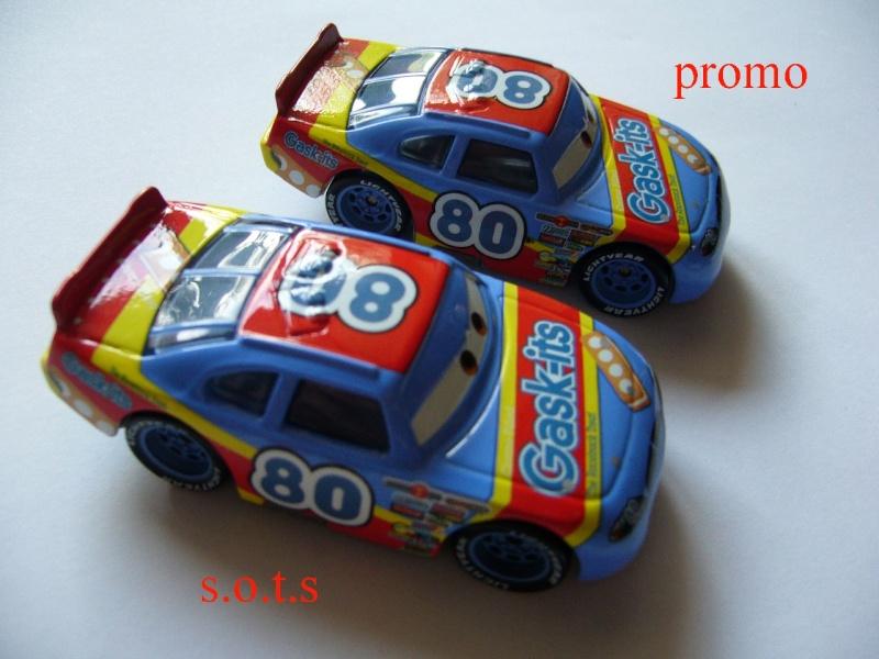 comparaison deux voitures 80# et 54# promo et SOTS Gask-i11