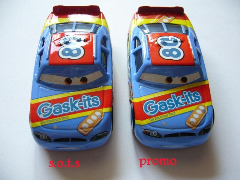 comparaison deux voitures 80# et 54# promo et SOTS Gask-i12