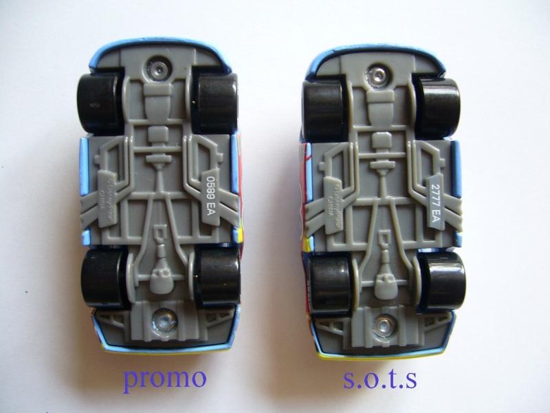 comparaison deux voitures 80# et 54# promo et SOTS Gask-i13