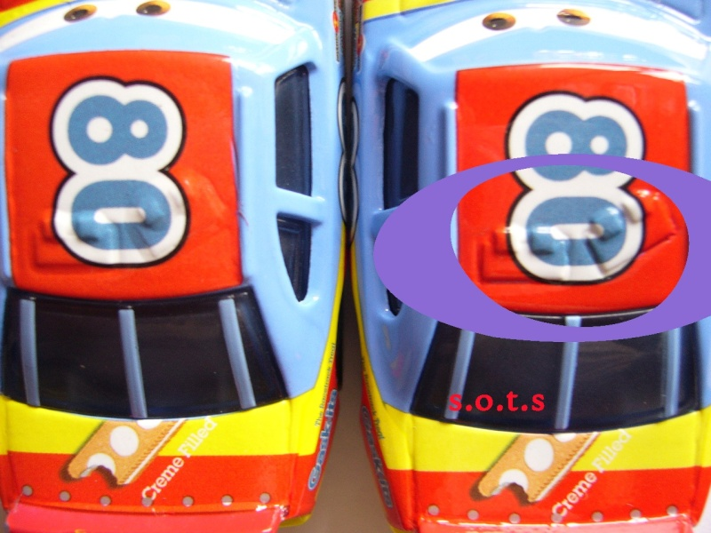 comparaison deux voitures 80# et 54# promo et SOTS Gask-i14