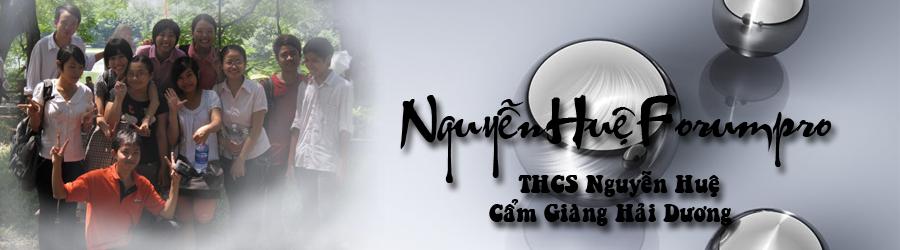 THCS Nguyễn Huệ Cẩm Giàng Hải Dương Khóa 2001 - 2005