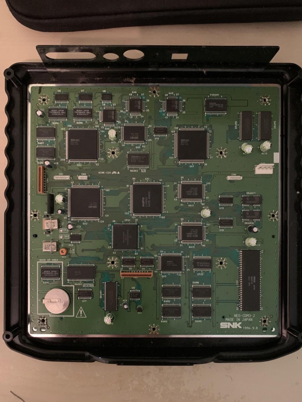 Histoire de condensateurs Neo Geo cd top loader 37d66410