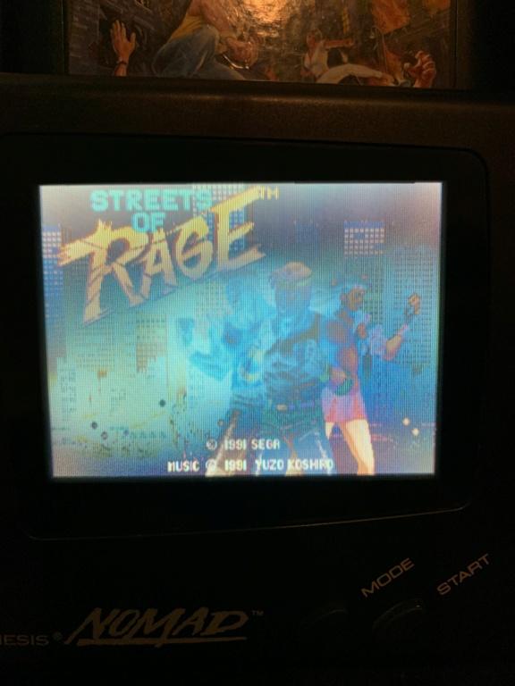 Problème tache sur écran Sega Nomad? 440d2810