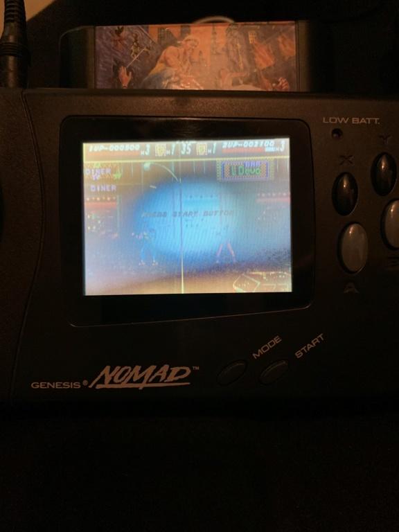 Problème tache sur écran Sega Nomad? 7ce3f610