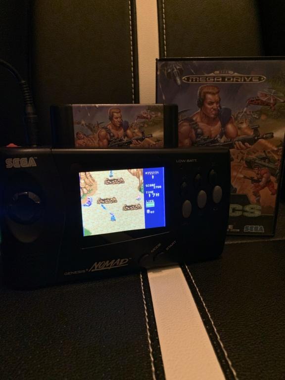 Problème tache sur écran Sega Nomad? 90f03c10